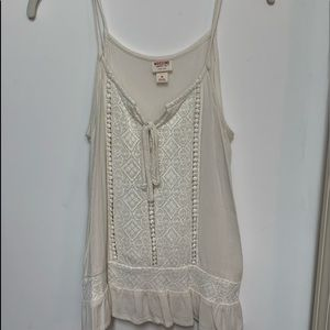 Mossimo lace tank top